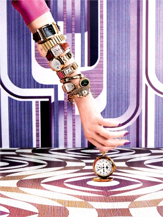 Vogue Italia – Watches, what else?